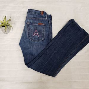7 for all mankind A pocket jeans size 27